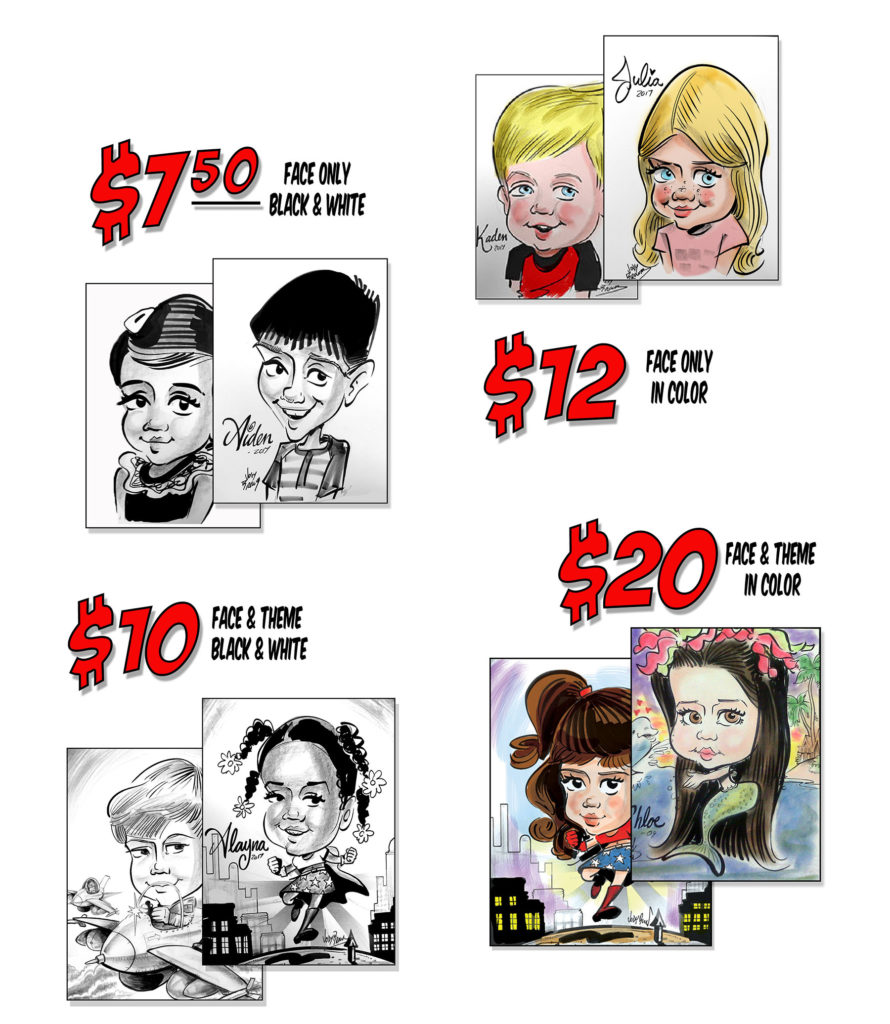 All samples Jody Caricatures Beaumont