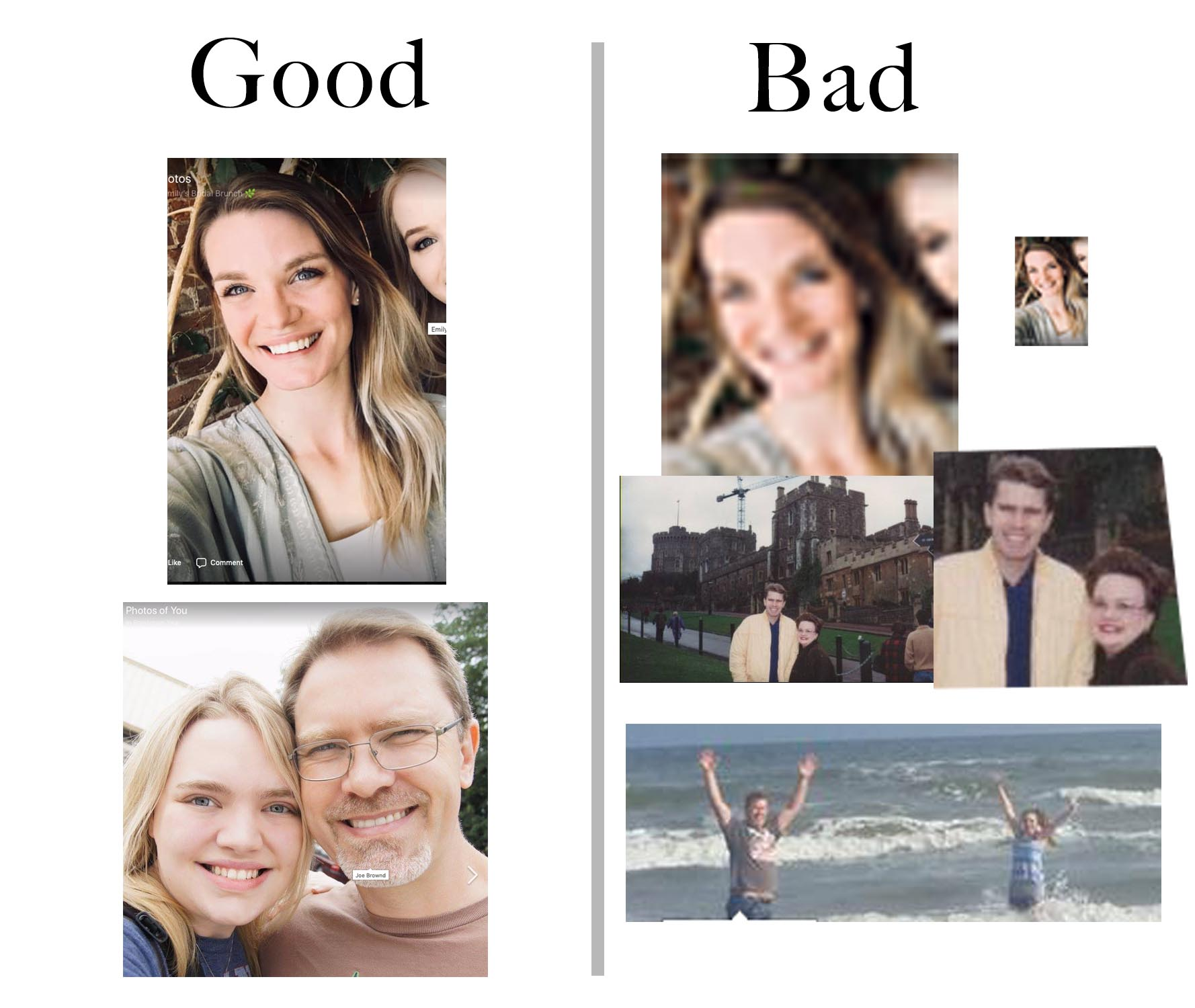 Good vs Bad Quality