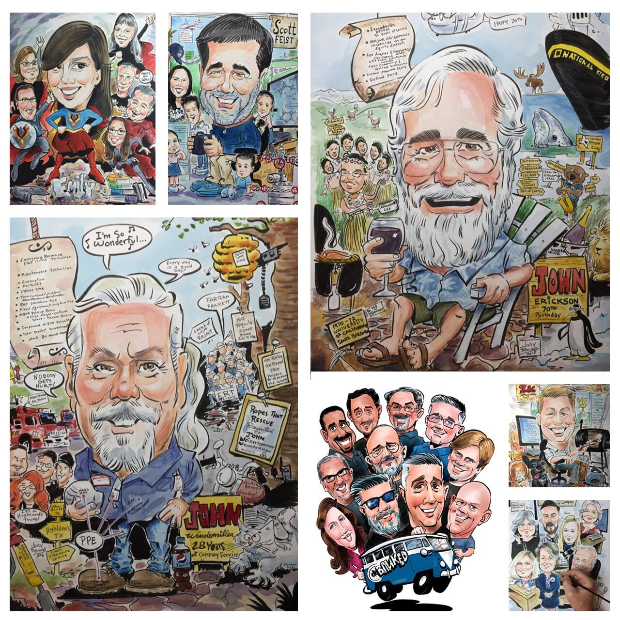 Jody Brownd Caricatures Houston 3